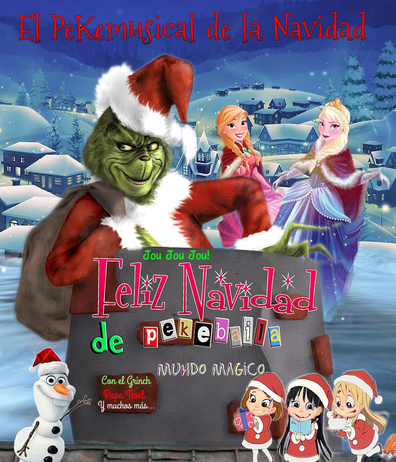 Feliz Navidad Il Divo.Venta De Entradas El Pekemusical De La Navidad Con El