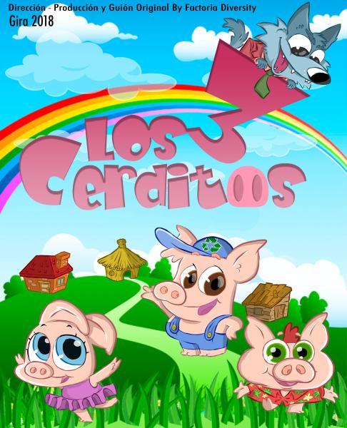 Los 3 Cerditos y el Lobo Feroz en Centro Cultural Infanta Elena de Alcantarilla